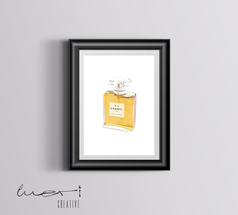 chanel-poster illustration