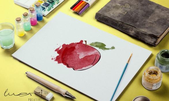 Suluboya Meyve İllustrasyonları