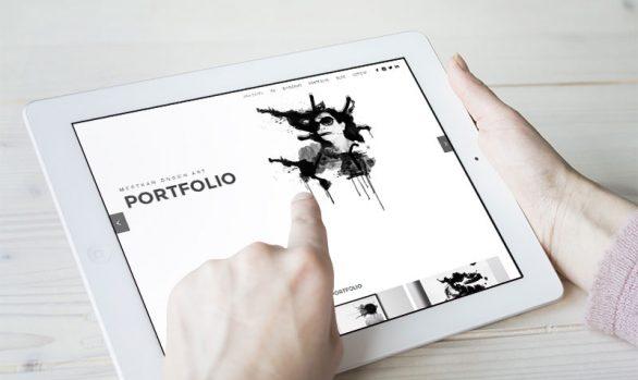 Mertkan Öngün Art Studio Web Tasarımı