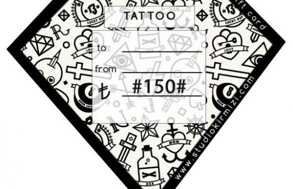 Studio Kırmızı Tattoo Shop Gift Card
