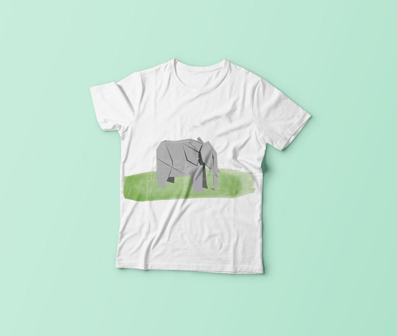 origami fil t-shirt