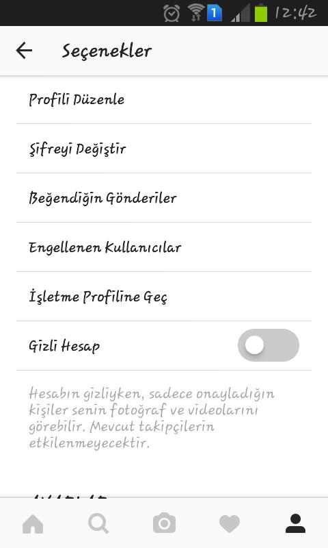 instagram işletme profiline geçiş