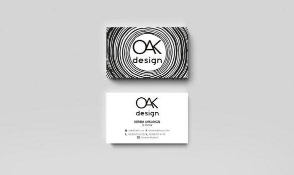Kurumsal Kimlik Tasarımı - OAK Design