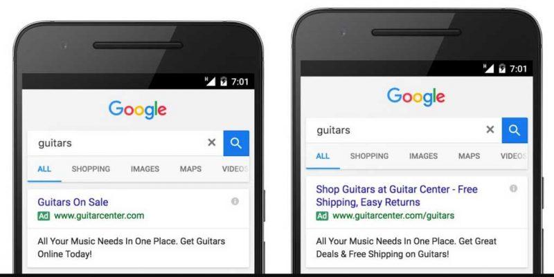 Adwords reklamları - Google Adwords reklamları