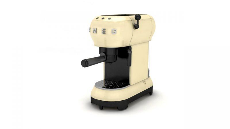 3d ürün görselleştirme 3 boyutlu kahve makinesi modelleme