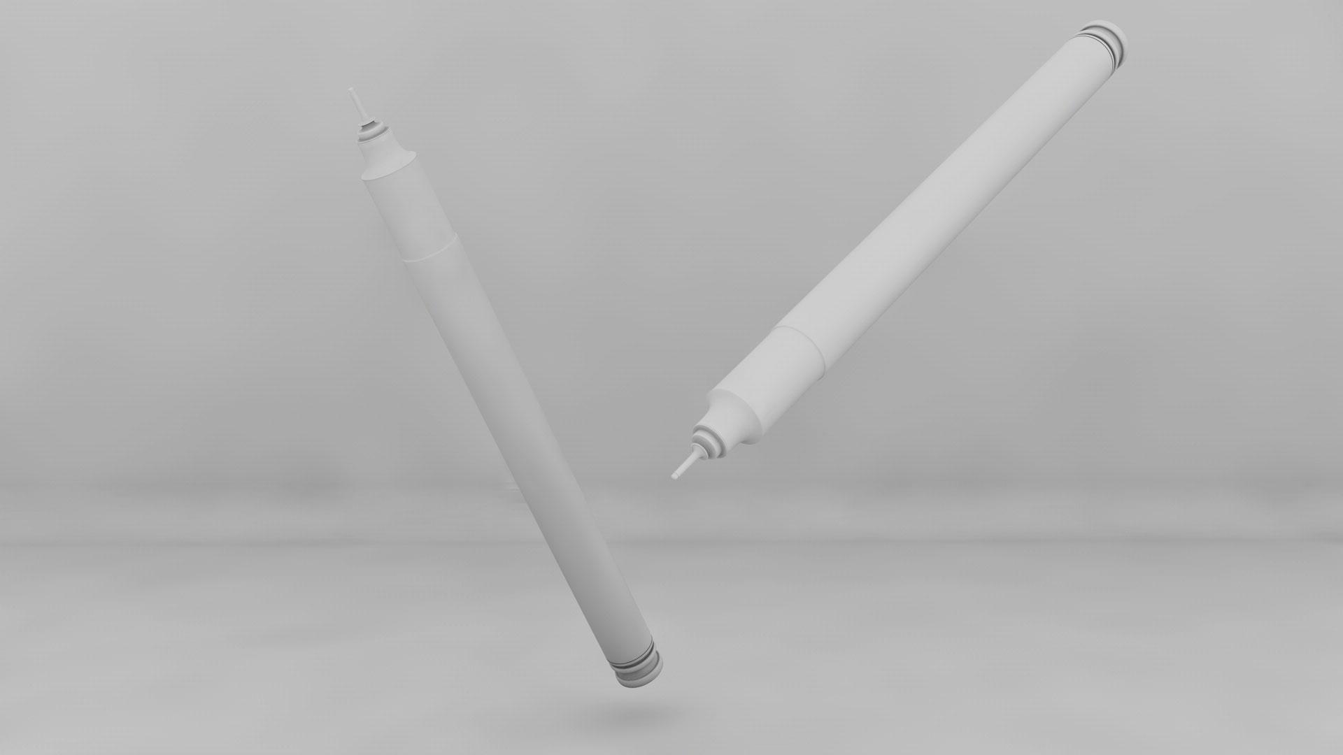3d ürün görselleştirme kalem modelleme