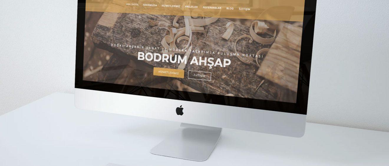 bodrum ahsap web site tasarimi