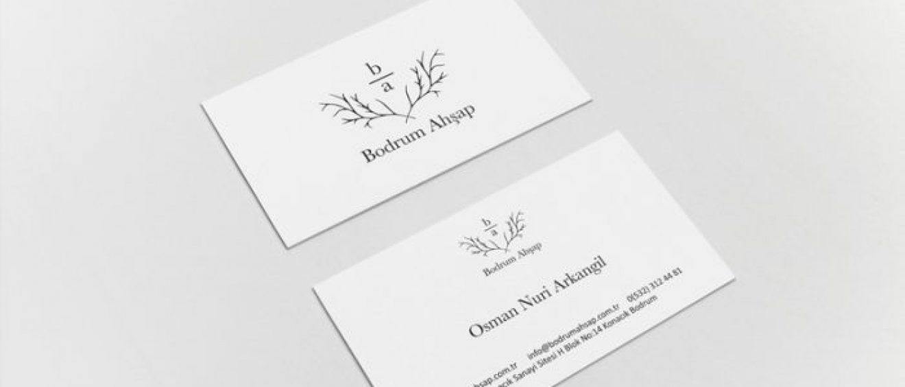 bodrum-ahsap-kartvizit tasarimi