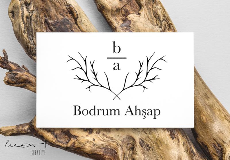 bodrum-ahsap-logo tasarimi