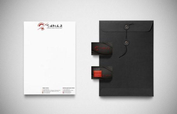 CNMAR GMBH Kurumsal Kimlik Tasarımı