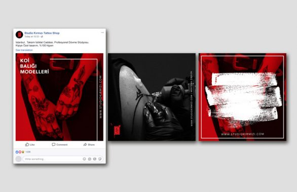 Studio Kırmızı Tattoo Sosyal Medya Yönetimi