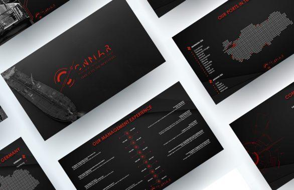 CNMAR Shipping Powerpoint Sunum Tasarımı