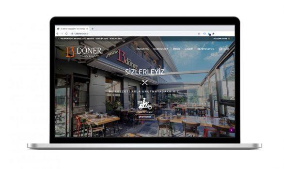 13 Döner Web Site Tasarımı