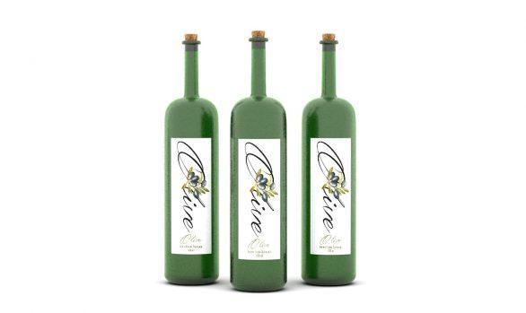 Yeşil Zeytinyağı Ambalaj Tasarımı
