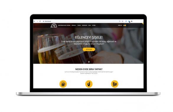 Bira House Web Site Tasarımı