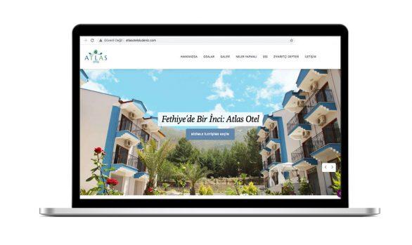 Atlas Hotel Web Site Tasarımı