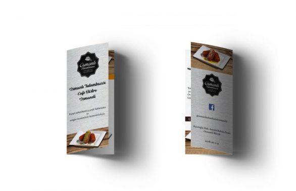 Osmanlı Tulumbacısı 3 Kırım Broşür Tasarımı