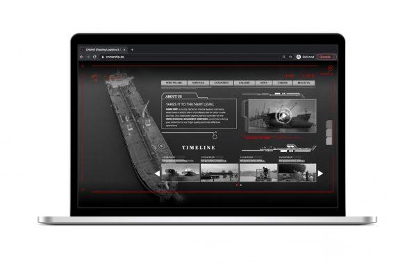Cnmar Ship Web Site Tasarımı