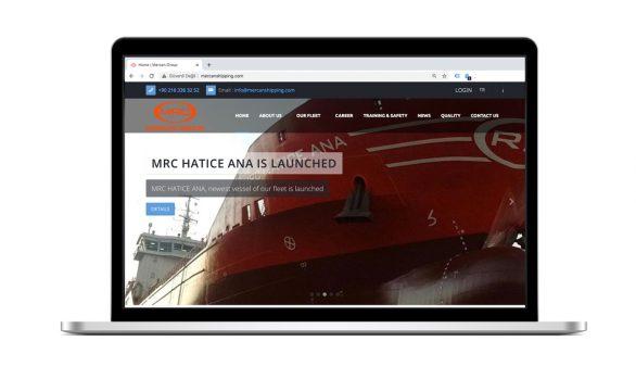 Mercan Group Web Site Tasarımı