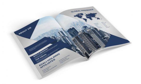 Serka İnşaat Katalog Tasarımı