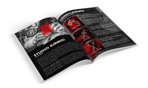 Studio Kırmızı Katalog Tasarımı