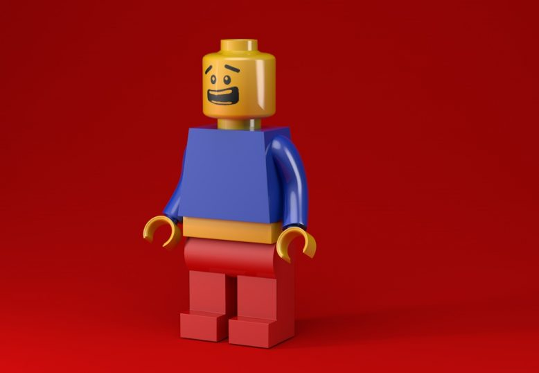 3D Lego Karakter