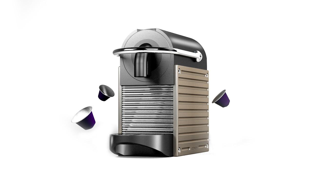 espresso Makinesi 3d Modelleme